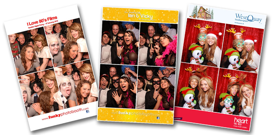 Funky Photo Booth Hire Hampshire