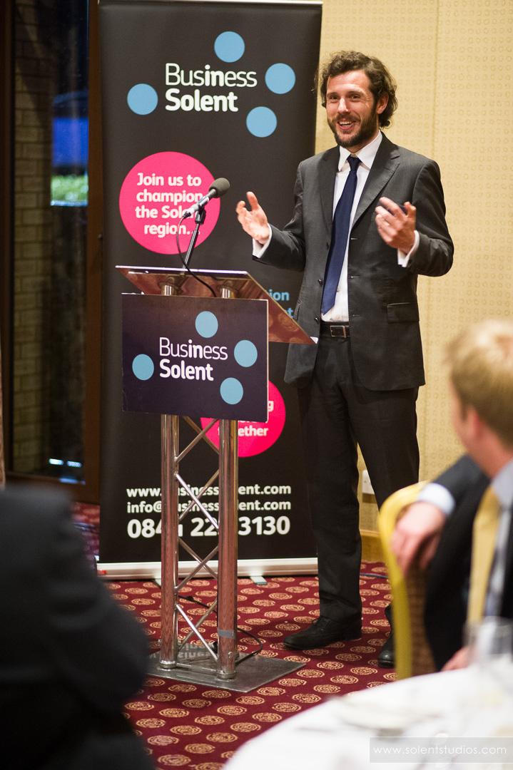 Ed Gould speaking at Basingstoke conference